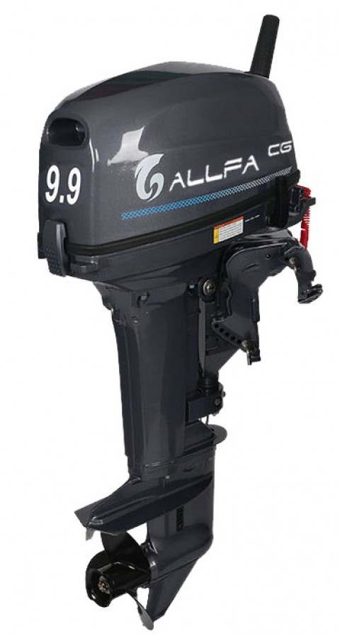 Лодочный мотор ALLFA CG T9.9 MAX (326 см2) 9.9 л.с. двухтактный
