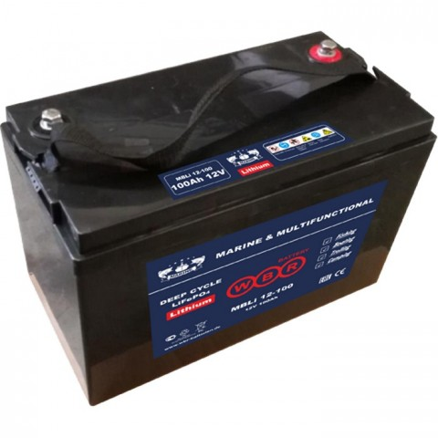 Литий-железо фосфатный аккумулятор WBR Marine MBLi 12-100