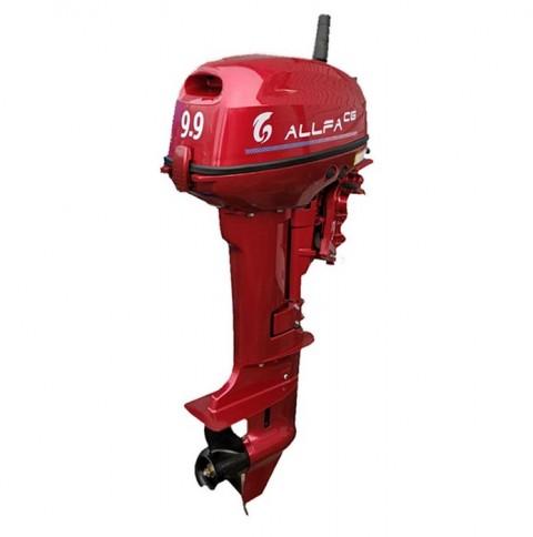 Лодочный мотор ALLFA CG T9.9 MAX (326 см2) 9.9 л.с. двухтактный (синий, зеленый, красный)
