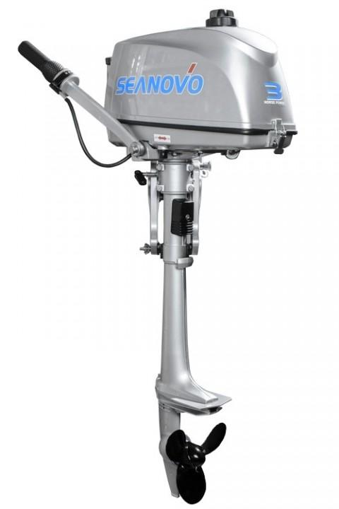 Лодочный мотор SEANOVO SN3FHS 3 л.с. двухтактный