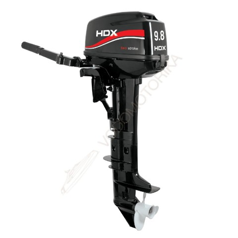 Лодочный мотор HDX T 9.8 BMS 9.8 л.с. двухтактный