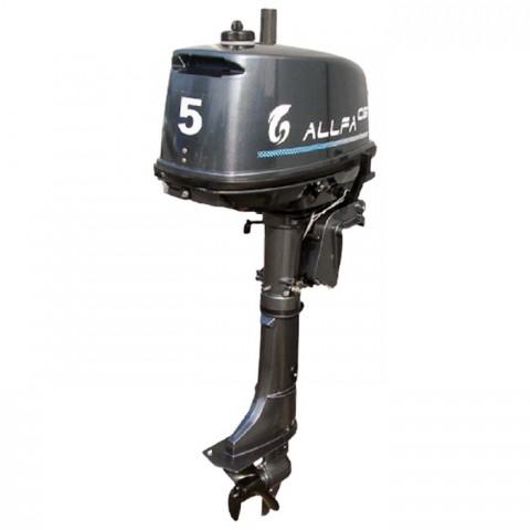 Лодочный мотор ALLFA CG T5 (5 л.с. двухтактный)