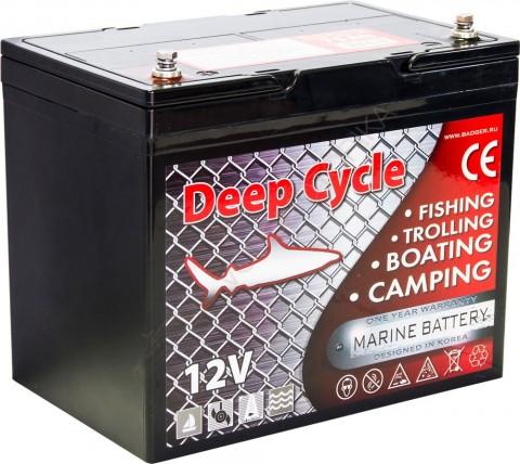 Аккумулятор глубокого разряда Marine Deep Cycle GEL CG12-75TXA
