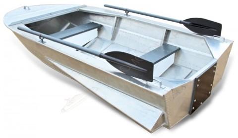 Алюминиевая лодка Малютка-Н 2.6 м с булями