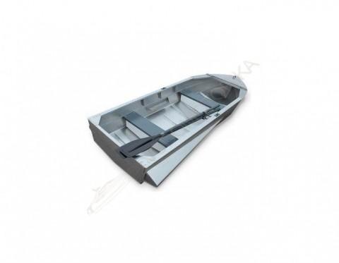 Алюминиевая лодка Малютка-Н 2.9м с булями