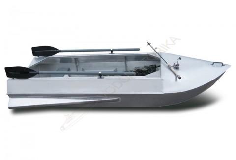 Алюминиевая лодка Романтика-Н 2.8м с булями