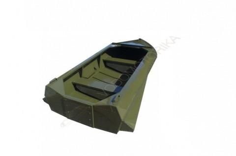 Алюминиевая лодка Романтика-Н 3.0м с булями