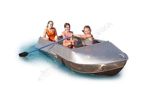 Алюминиевая лодка Романтика-Н 3.5м с булями