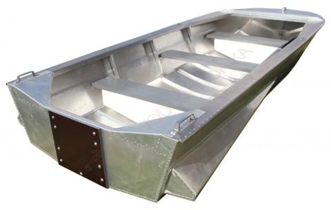Алюминиевая лодка Мста-Н 3.7м с булями