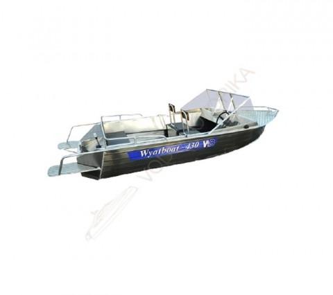 Алюминиевый катер WYATBOAT Wyatboat-430 Pro
