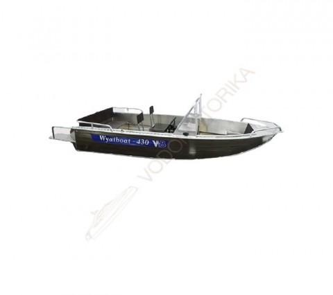 Алюминиевый катер WYATBOAT Wyatboat-430 DC
