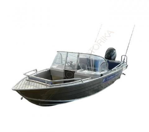 Алюминиевый катер WYATBOAT Wyatboat-430 DCM