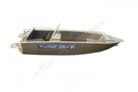 Алюминиевый катер WYATBOAT Wyatboat-430 С