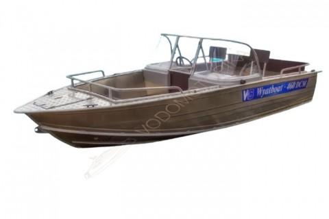 Алюминиевый катер WYATBOAT Wyatboat-460 DCM