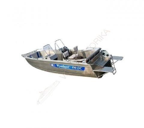 Алюминиевый катер WYATBOAT Wyatboat-490 DC