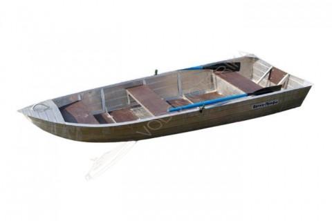 Алюминиевая лодка WYATBOAT Вятка-профи 37