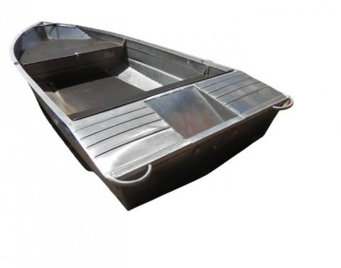 Алюминиевая моторно-гребная лодка Вятка Вариант