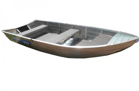 Алюминиевая моторно-гребная лодка Вятка Профи 32