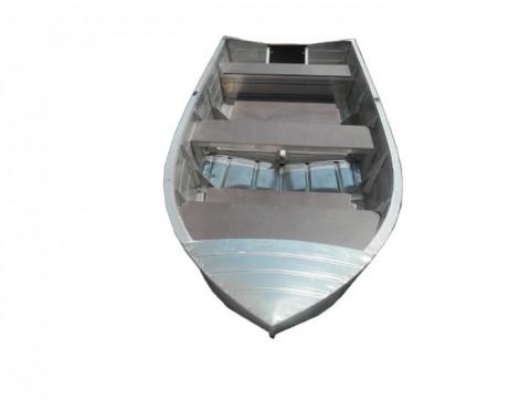 Алюминиевая моторно-гребная лодка Вятка Профи 37