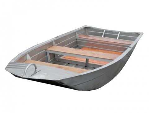 Алюминиевая моторно-гребная лодка Вятка Профи 37-Т