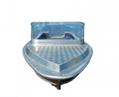 Алюминиевая моторно-гребная лодка Вятка Профи 40