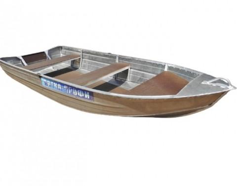 Алюминиевая лодка Вятка Профи 38