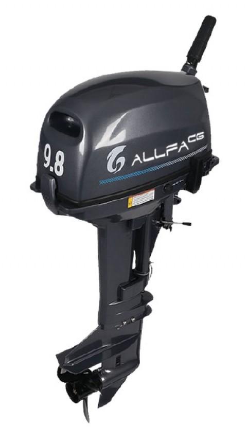 Лодочный мотор ALLFA CG T9.8 (9.8 л.с. двухтактный)